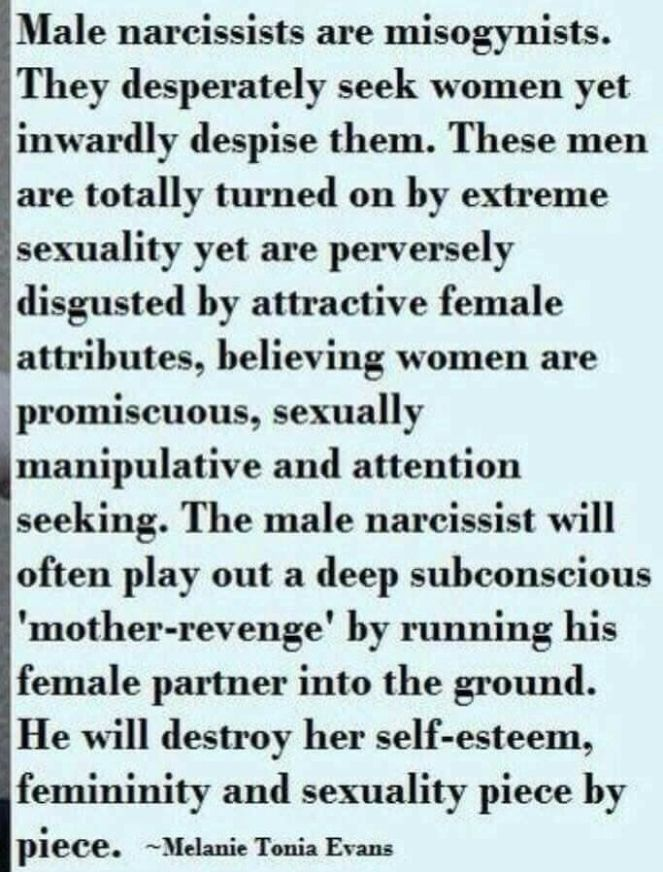 Why would a self-sufficient malignant narcissist stay with a S/O if the narcissistic claims he's no longer attracted to the S/O? Answered by Debra Sutton on Quora