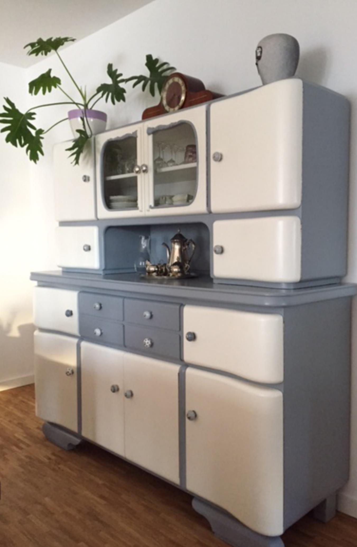 Schon Alter Küchenschrank Küchenbuffet 50er Jahre Garagenmoebel · Alte  Küchenschränke