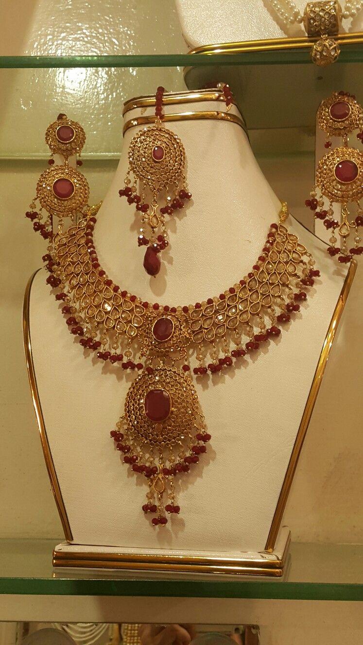 13++ Pakistani bridal jewelry sets gold info