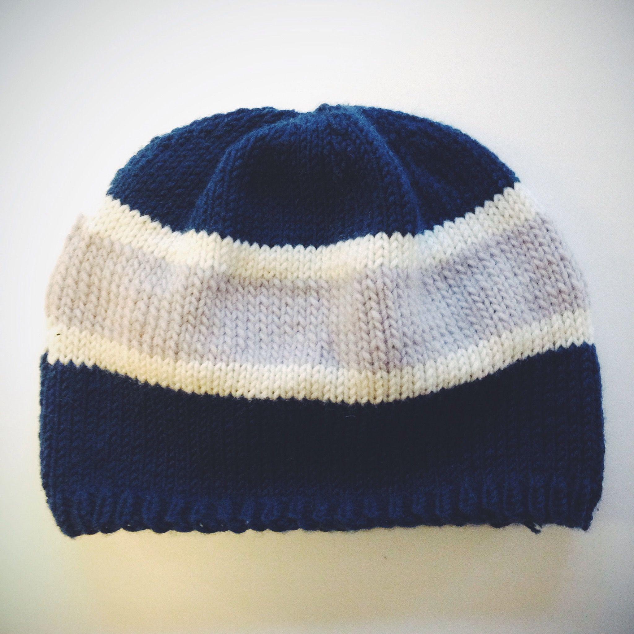 Sports Team Hat — A Free Knitting Pattern | Knitting patterns ...