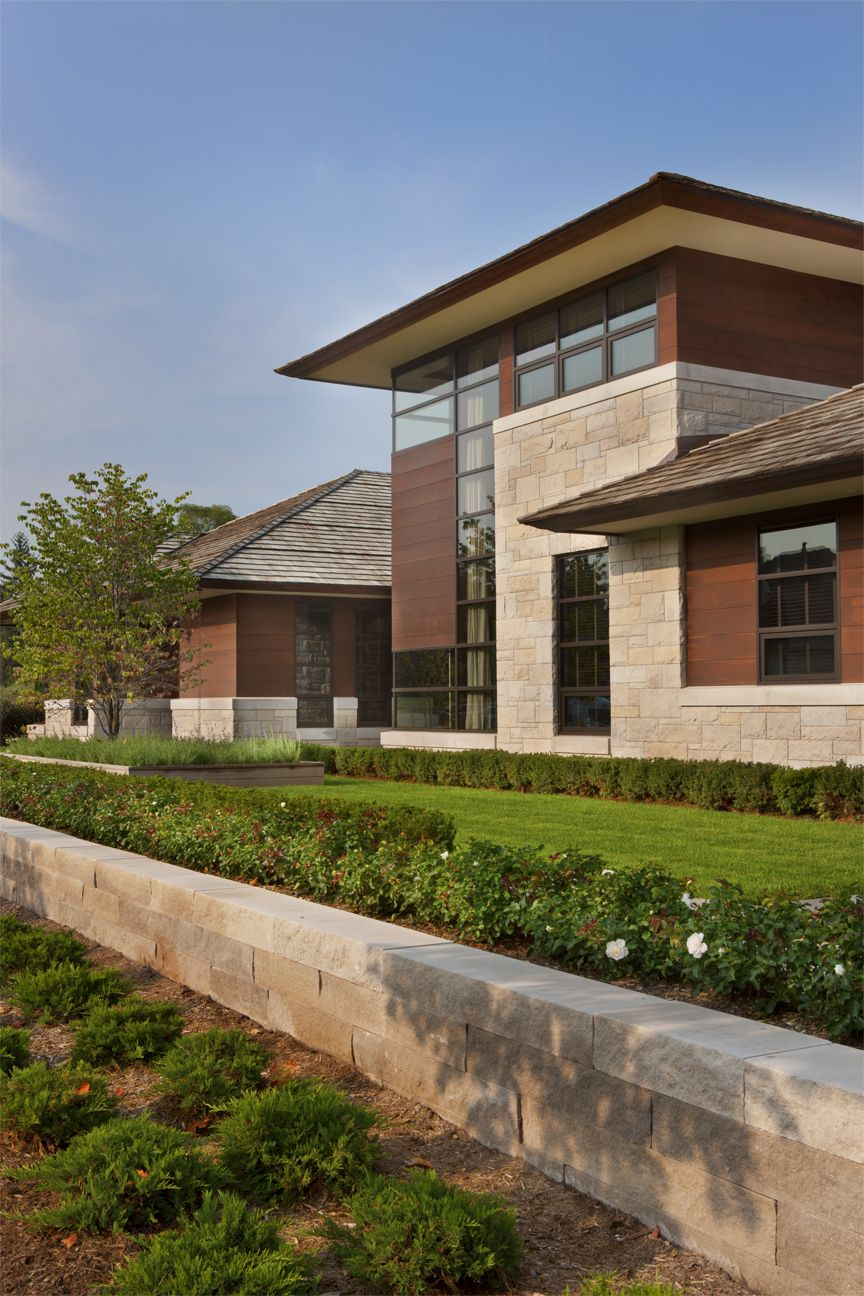 Elegant Mountain Contemporary Home In Colorado Radiates With Warmth: Contemporary Home In Metro Detroit Features Aluminum Clad And Sapele Mahogany Windows And Doors