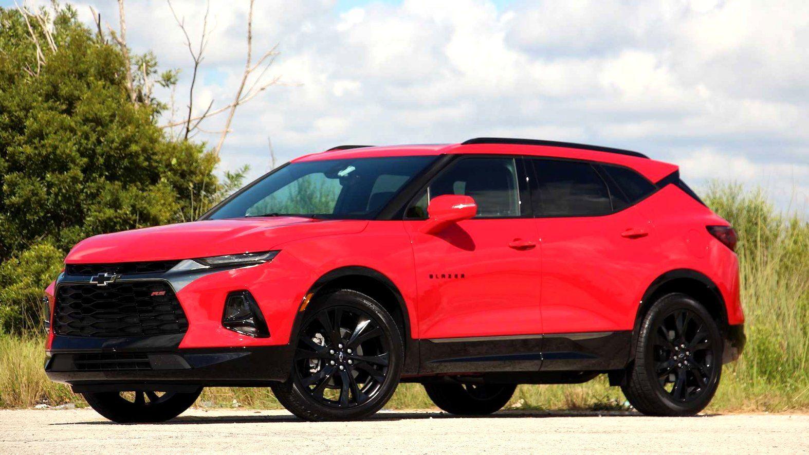 2020 Chevrolet Blazer Xl  Spy Shoot