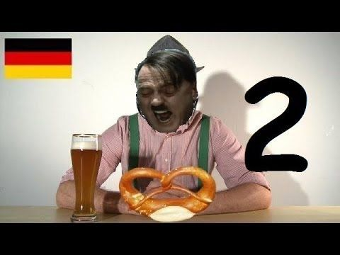 Hitler watches How German Sounds Compared To Other Languages II