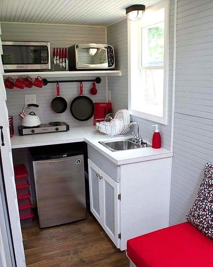 Gambar Kitchen Set Minimalis Dapur Luar Ruangan Ide Dapur