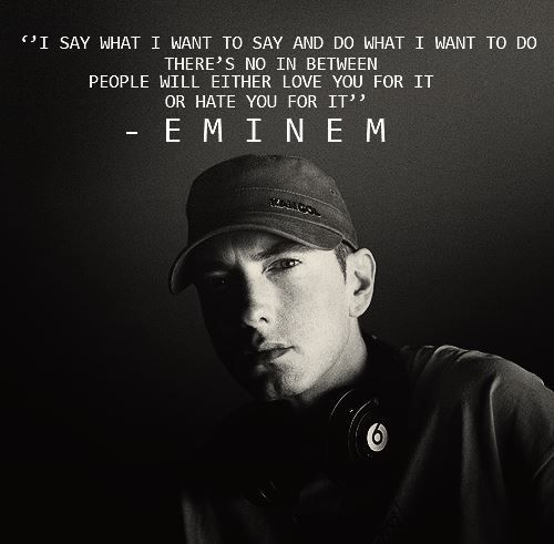 Eminem Quotes Eminem Quotes Eminem Lyrics Rapper Quotes