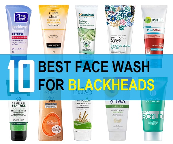 face wash for blackheads