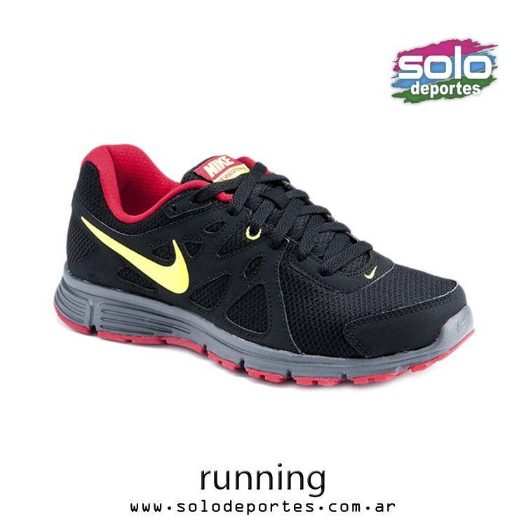 Zapatilla Running Revolution 2 Msl Gris Nike