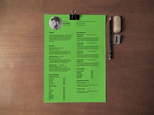 Ultra Minimal Resume On Behance  Mounir    Free Resume