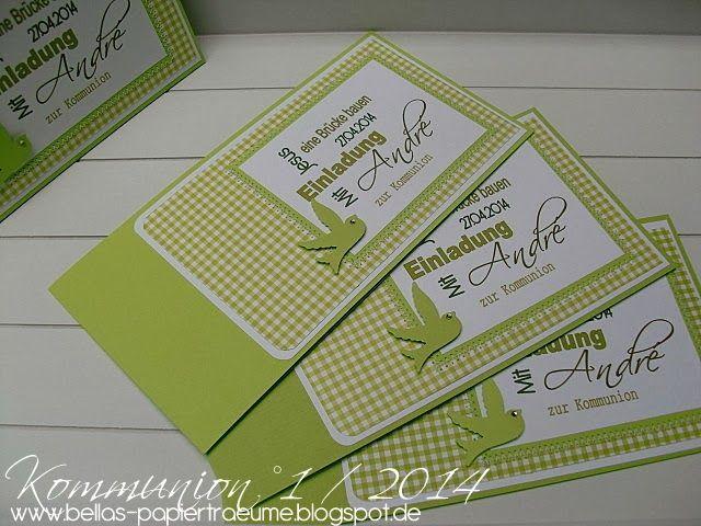 kommunion #einladungskarten #drucken | karten | pinterest, Kreative einladungen