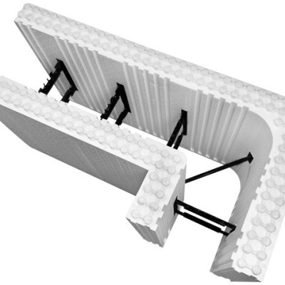 Logix Icf Insulated Concrete Form 90 Degree Corner In 2020 Insulated Concrete Forms Concrete Forms Plans Modern