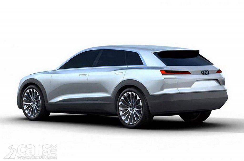 2018 Audi Q6 C Bev Concept Previews Audi S Tesla Model X Rival Cars Uk Audi Tesla Model X Cars Uk