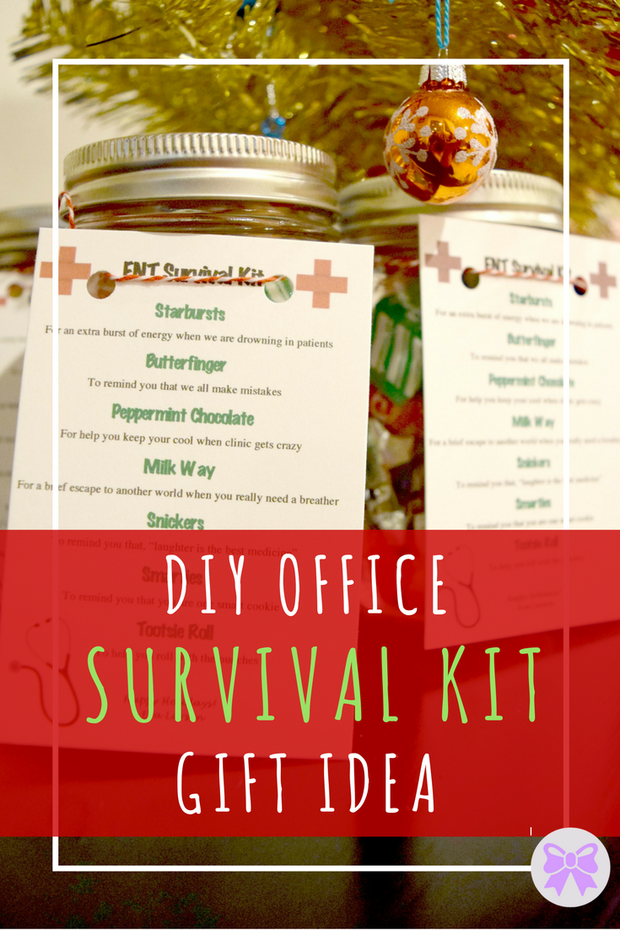 diy office survival kit gift idea money tips and tricks for thrifty living group board. Black Bedroom Furniture Sets. Home Design Ideas
