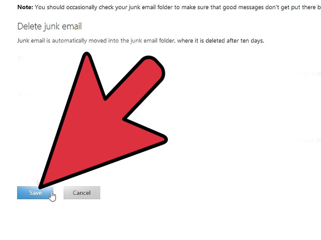 How To Block Junk Mail On Hotmail 13 Steps With Pictures Junk Mail Mailing Junk