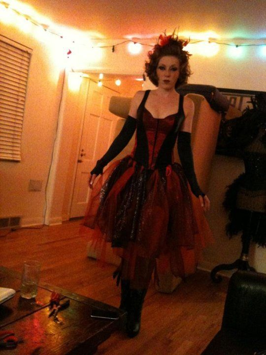 Dark carnival theme party costume   Costumes I\'ve created ...
