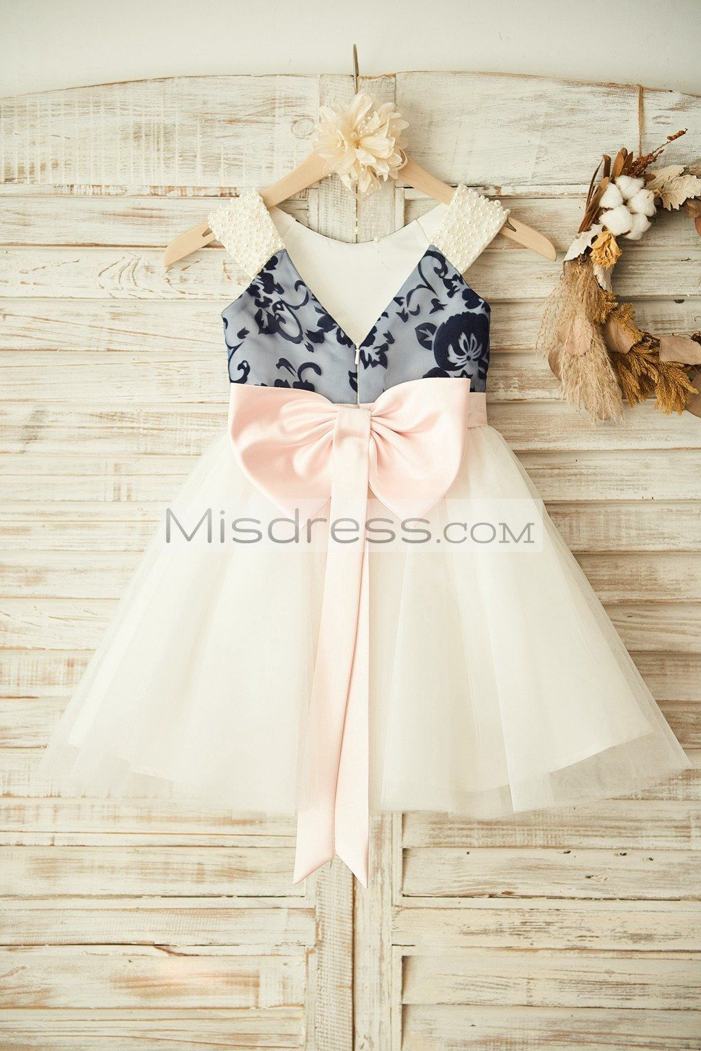 Ivory Pearl Pink Dresses