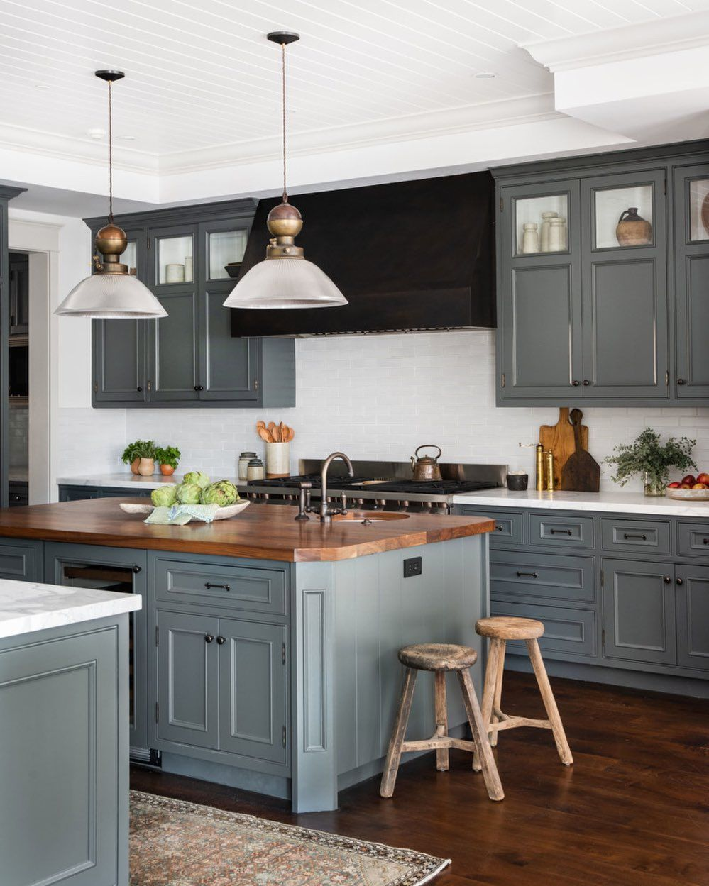 "Kitchen Interior Design Ideas Classic: Shoppe Amber Interiors On Instagram: ""Dark Meets Light And"