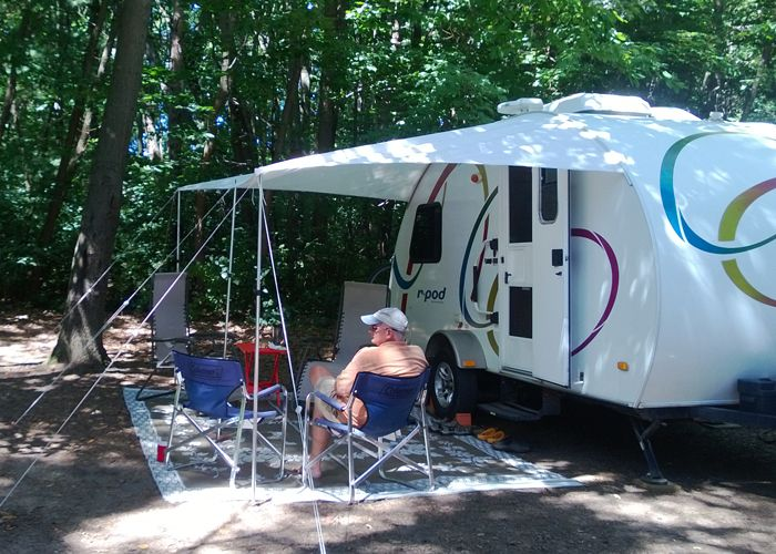 Awning For Peaches The Pod R Pod Owners Forum Page 2 R Pod Camping Forum Pod Camper