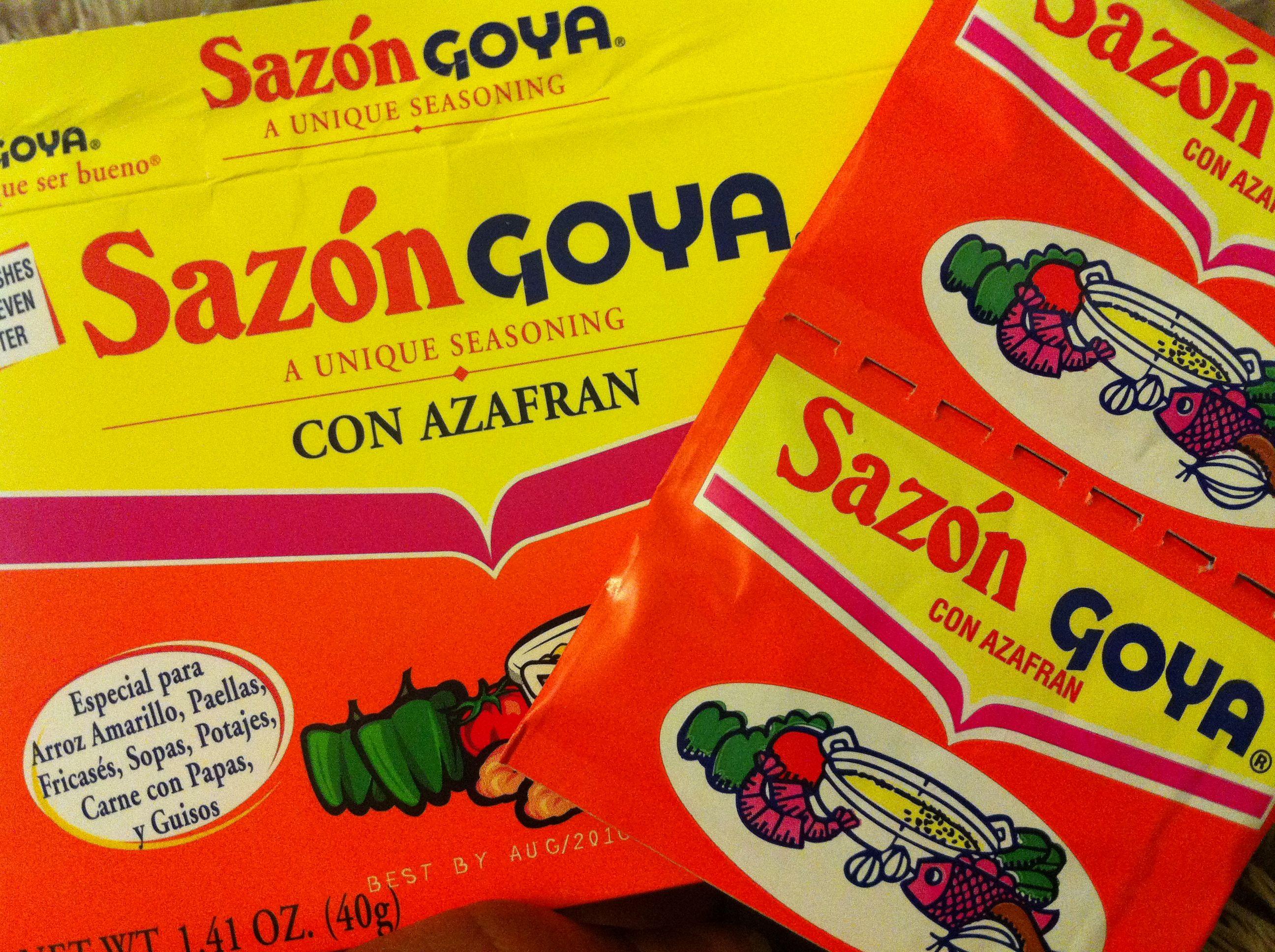 Goya Google Search Sazon Goya Mexican Food Recipes Sazon