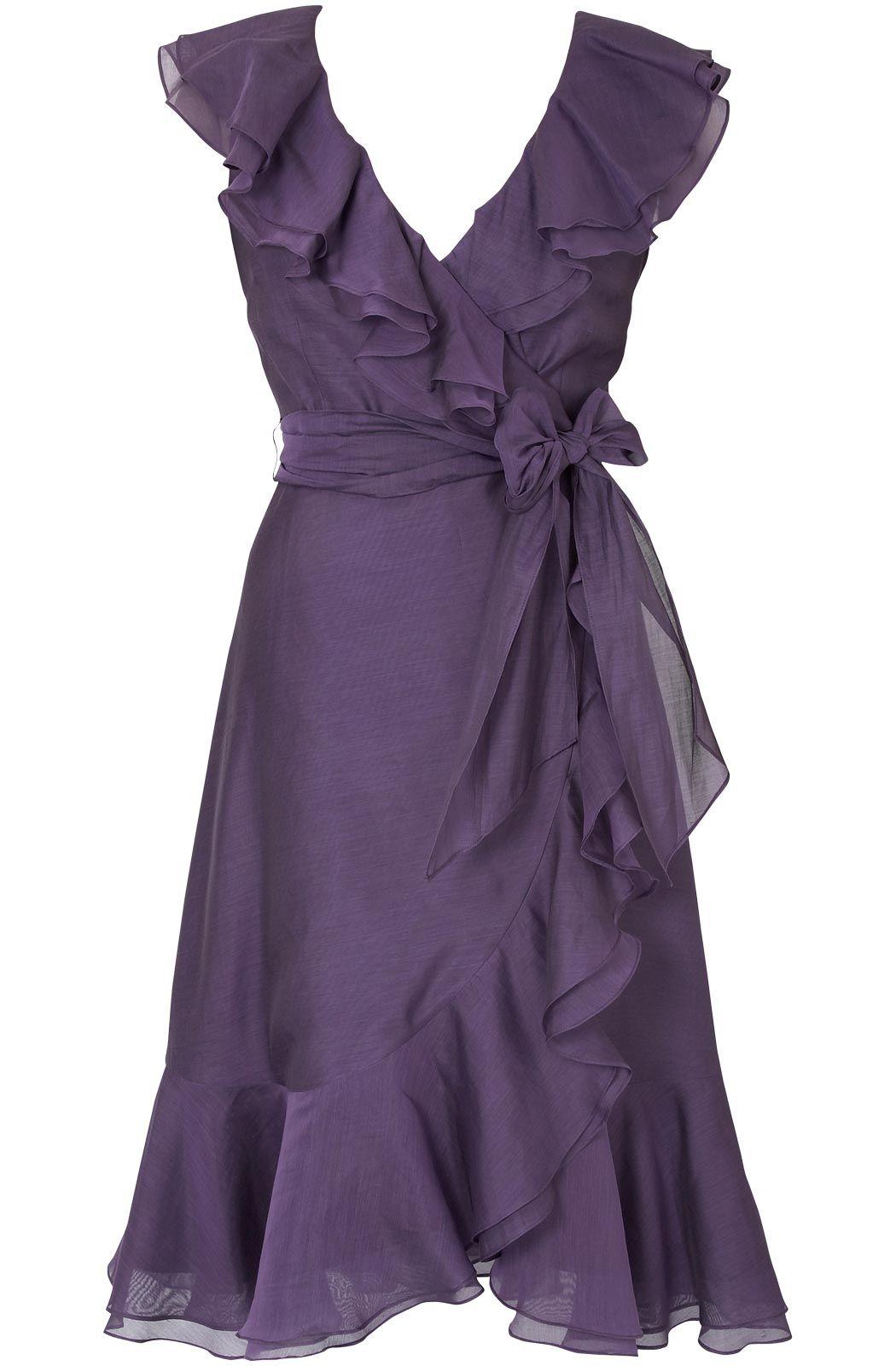 purple ruffles | Purple Passion | Pinterest | Lindo, Vestiditos y ...