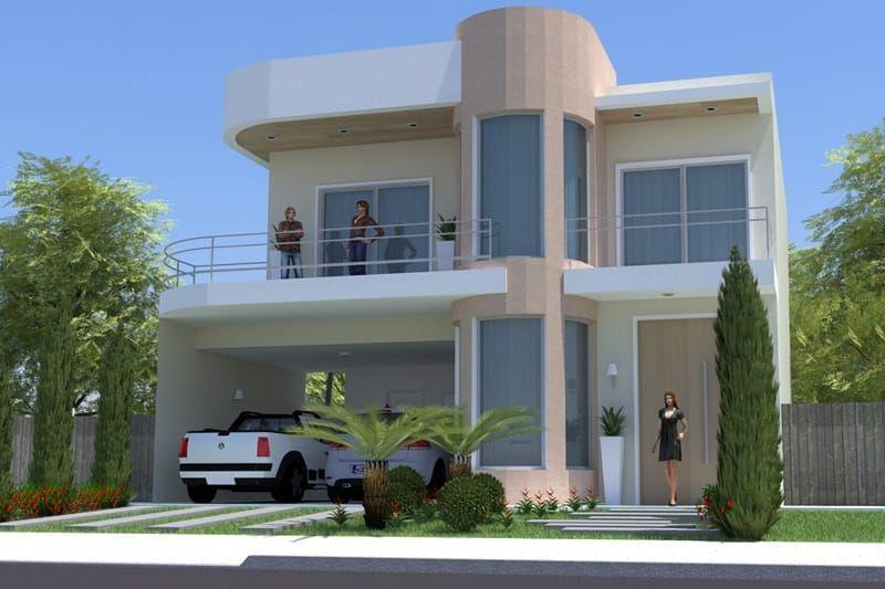 Planta de casa peque a y moderna arquitectura urbana for Arquitectura moderna casas pequenas
