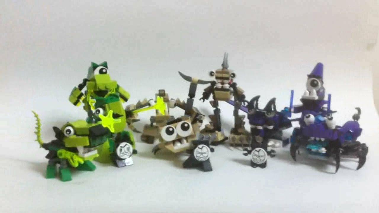 LEGO Mixels Webshow #3 : Construction de la série 3 (2/2) [Français]