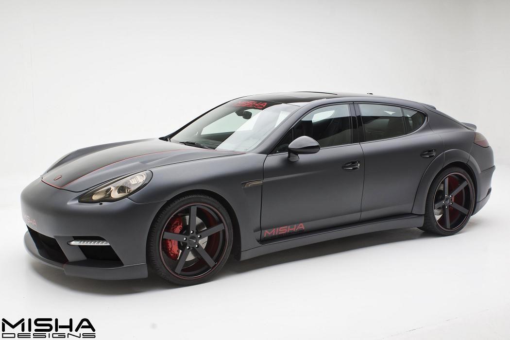 Porsche Panamera Body Kit Misha Designs Wide 3