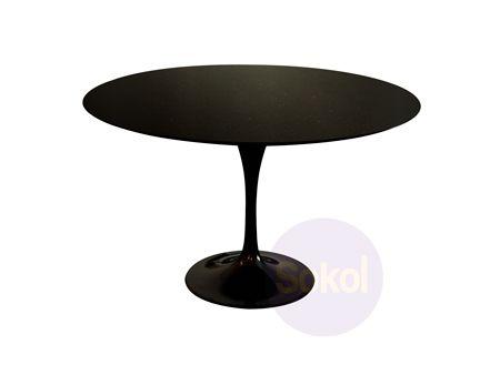 Saarinen Tulip Marble Dining Table 100cm Dining Tables Sokol