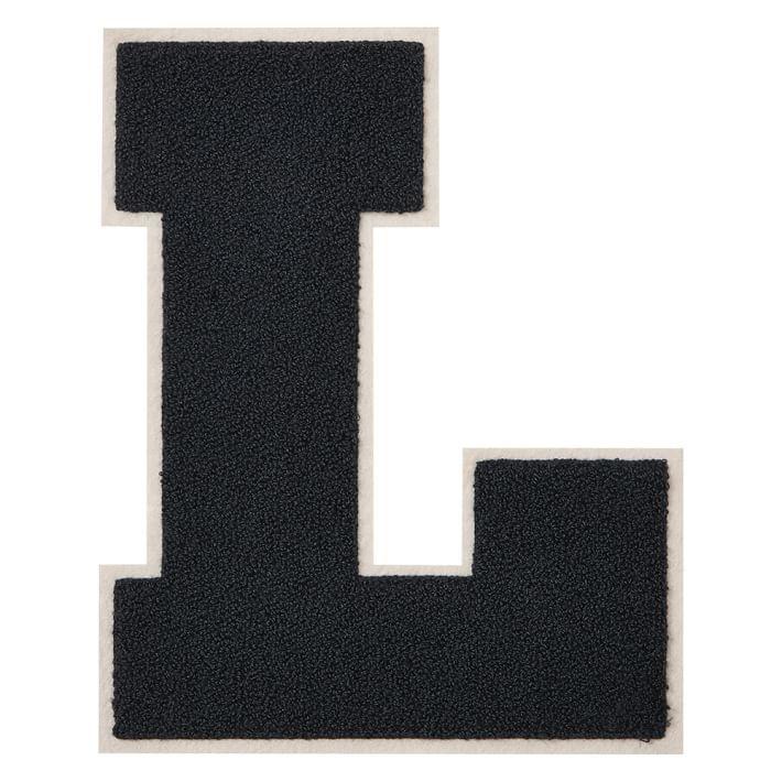 Chenille Varsity Letter L L Pinterest Block