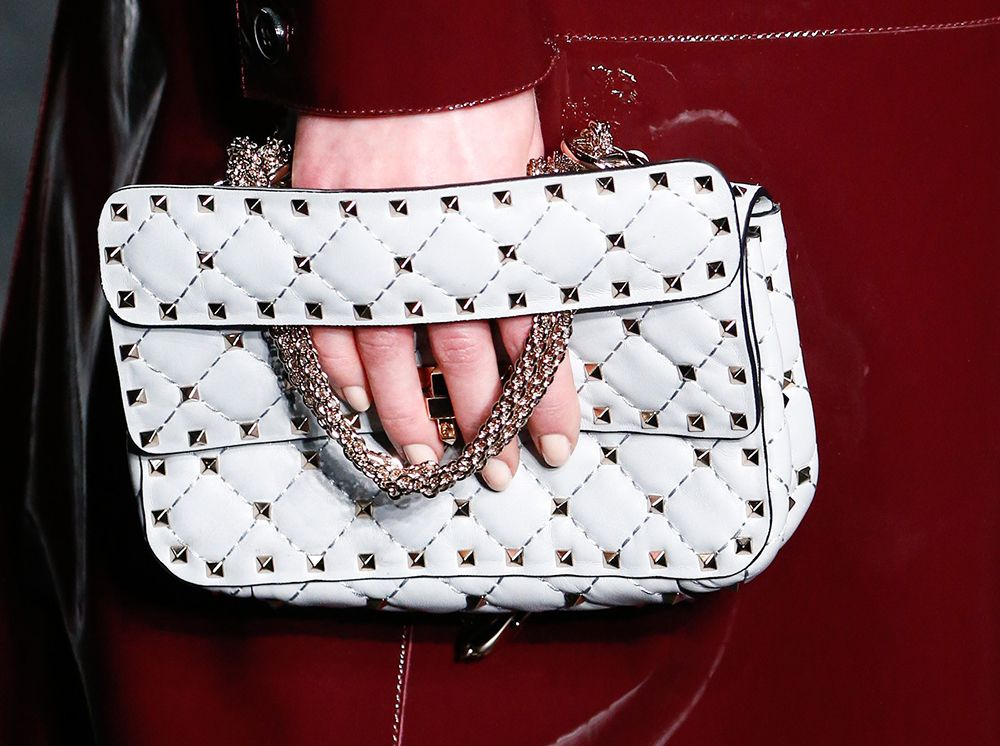 Valentine's Fall 2016 Variation on the Rockstud is Quilted and Super-Studded