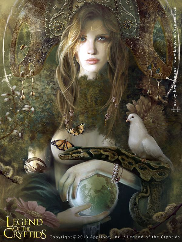 Gaia © Eve Ventrue --- (Legend of The Cryptids) | Eve Venture Art