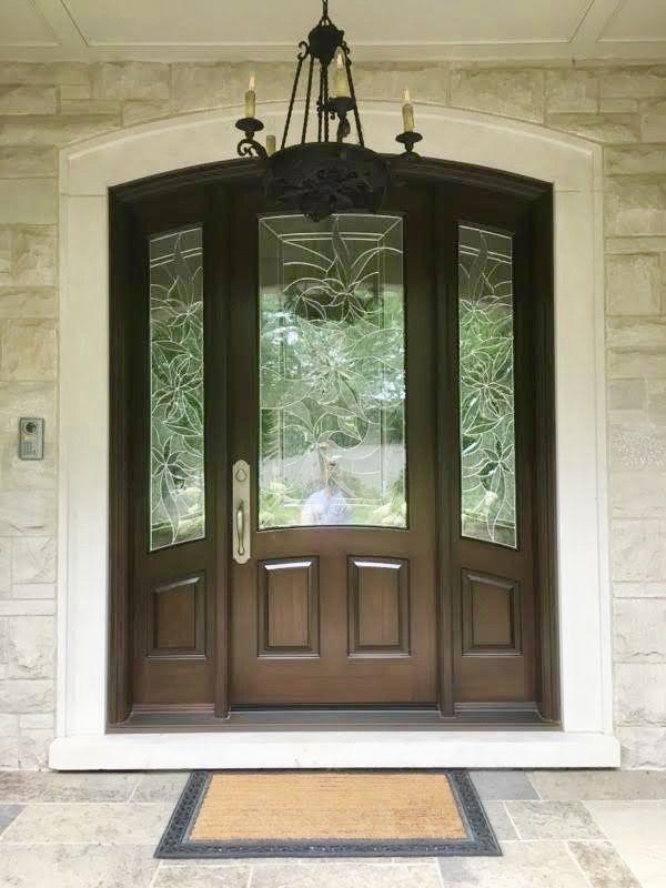 Amberwood Doors Inc: Absolutely Gorgeous #handmade #custommade #solid #mahogany