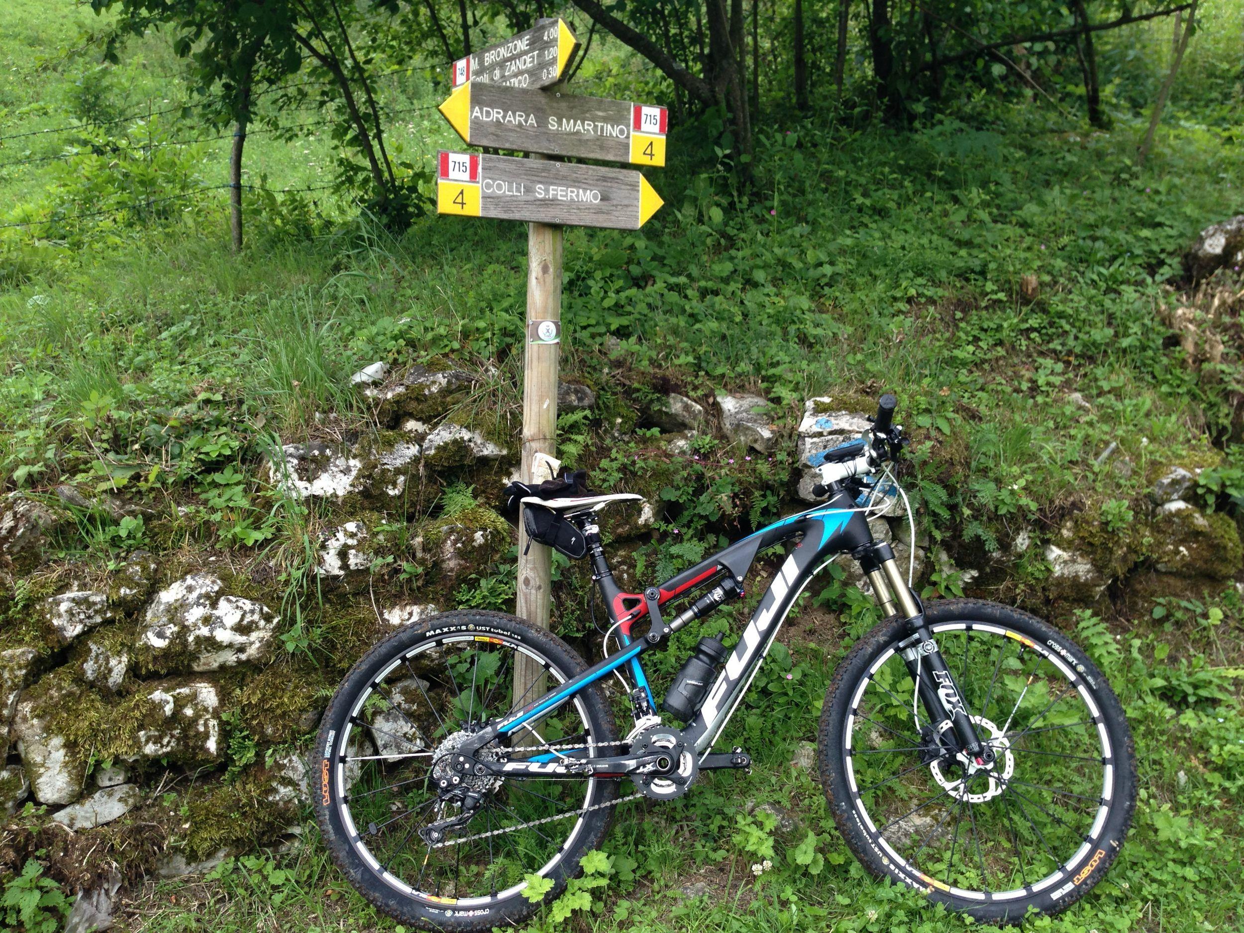 Mtb Mt Fuji 2013 Full Carbon Annunci Biciclette Usate Fuji