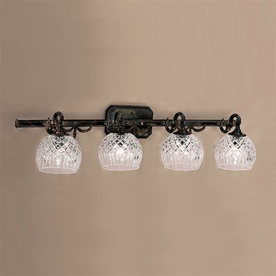 Classic Lighting 55544 OX 4 Light Waterbury Bathroom Light ...