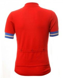 jura cycling merino jersey ss red back  880286320