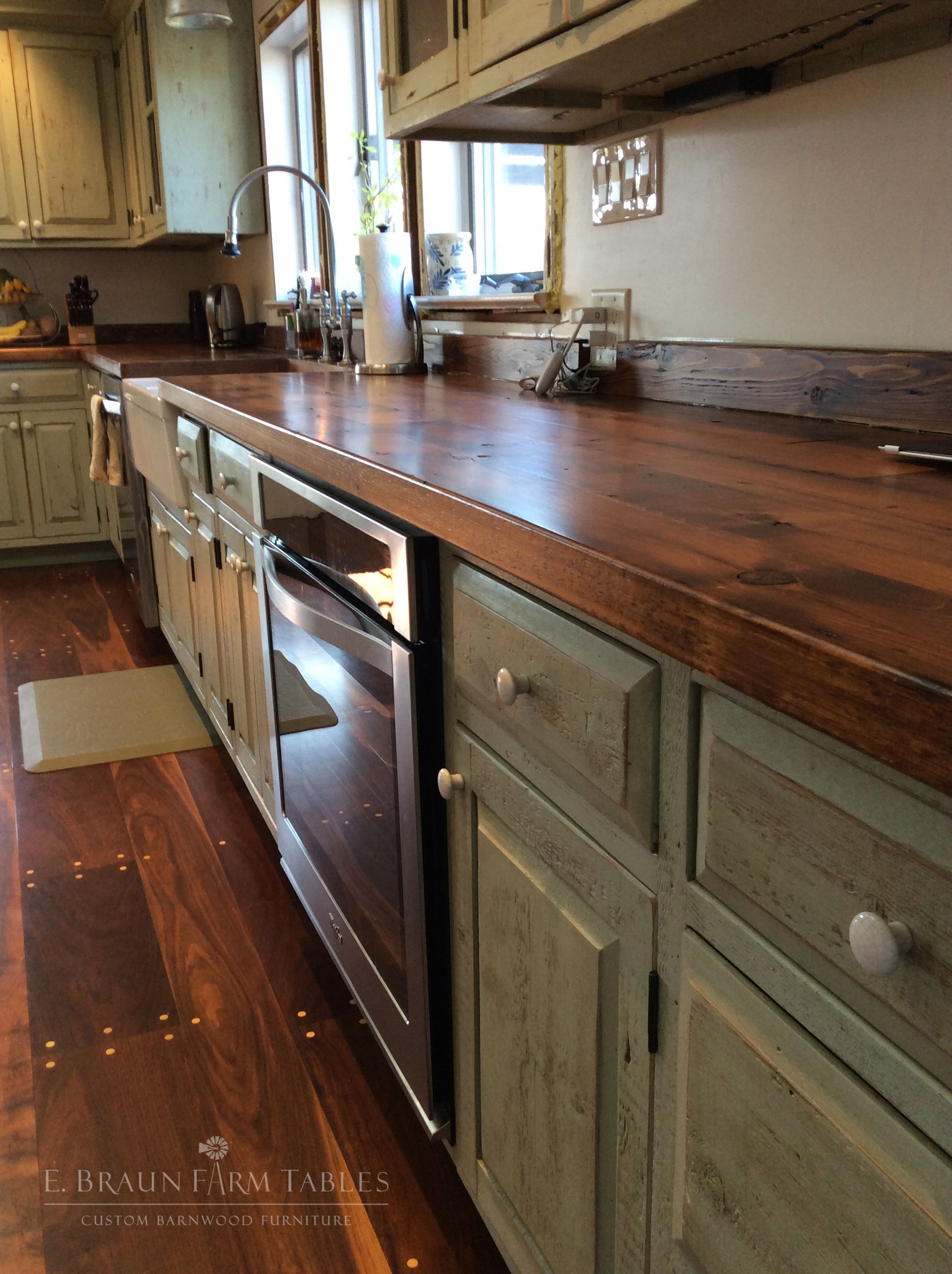 Reclaimed Barn Wood From Dismantled Barns And Farm Structures Dating From The 1800 S To Earl Farmhouse Kitchen Countertops Kitchen Countertops Kitchen Remodel