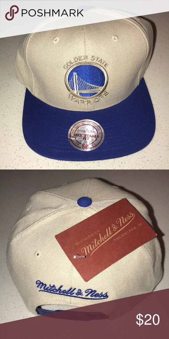 bbe02c591a8f38 Mitchell & Ness Golden State Warriors SnapBack Golden Warriors SnapBack  Mitchell & Ness Accessories Hats