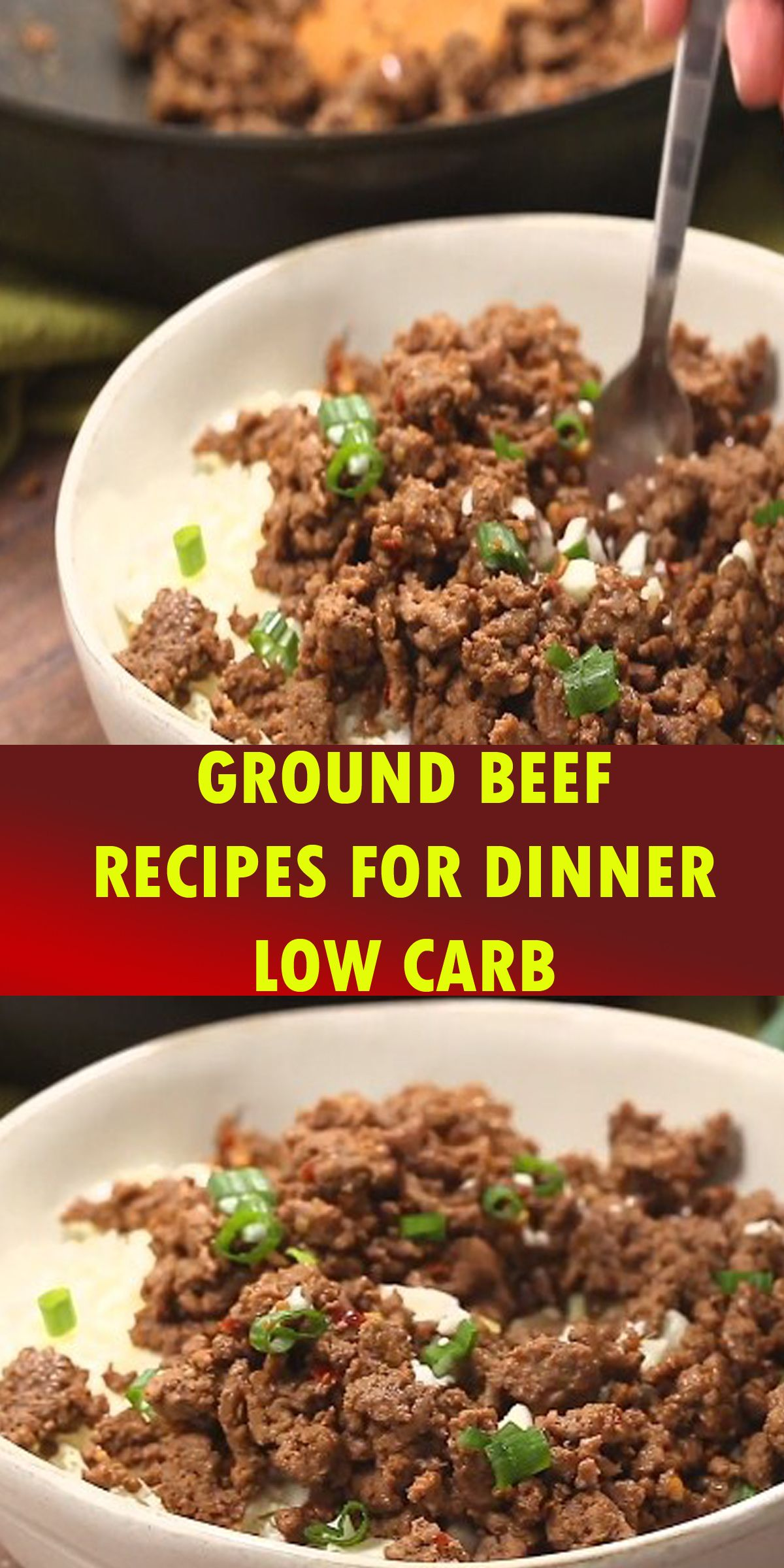 GROUND BEEF RECIPES FOR DINNER LOW CARB | Ground beef ...