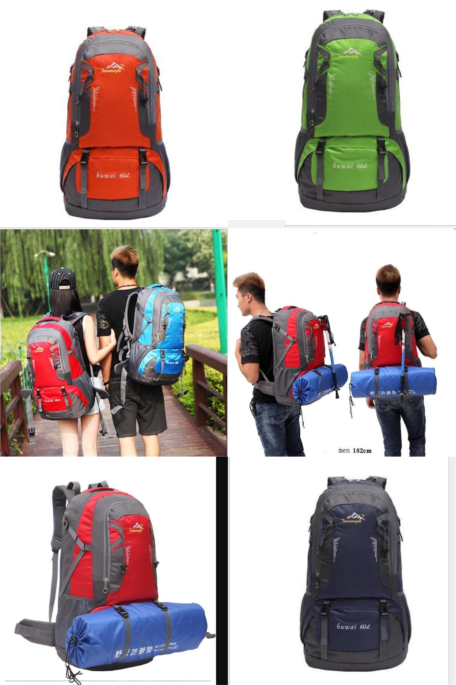 Visit to Buy  Hot Sale Nylon Black Backpack Waterproof Men s Back Pack  Laptop Mochila d1c750f8ac084