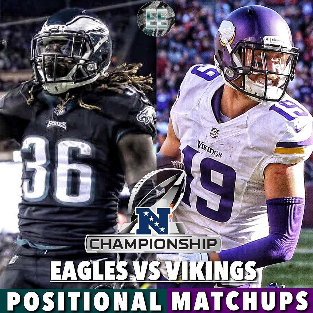 Eagles vs Vikings: Positional matchups QB: Vikings RB: Eagles WR ...
