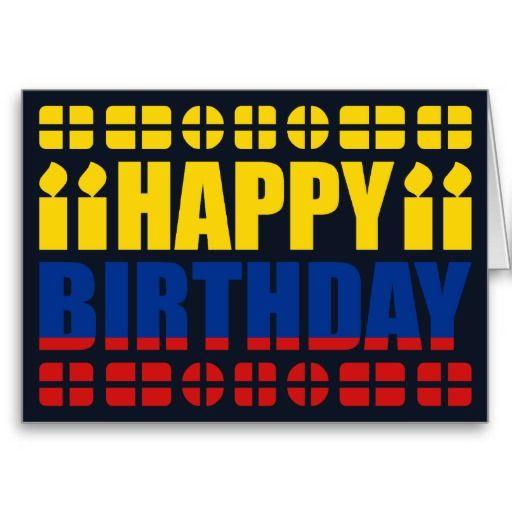 Colombia Flag Birthday Card – Birthday Card Site