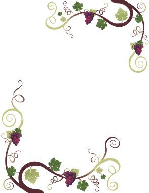 grape border clip art free photo illustration and clip art rh pinterest com flower vine border clip art floral vine border clip art
