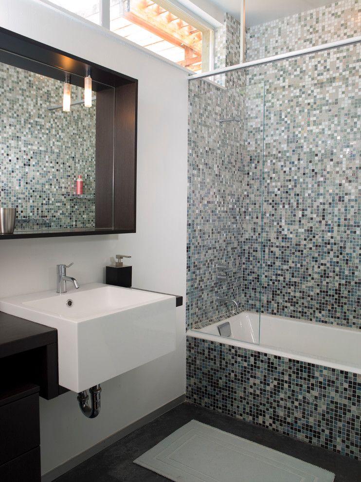 Charmant Modern Bathroom Shadow Box Mirror