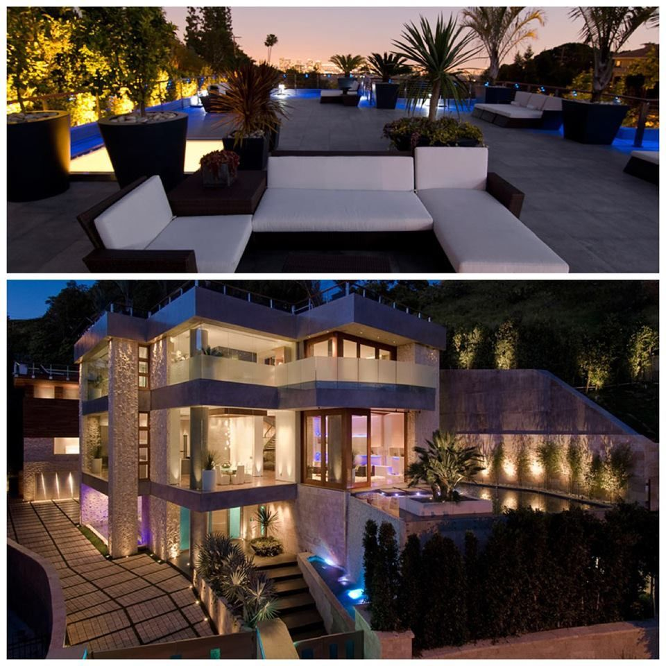 Luxury Homes In Los Angeles With A View: 9909 Beverly Grove Is A Luxury Trophy Residence Which Has