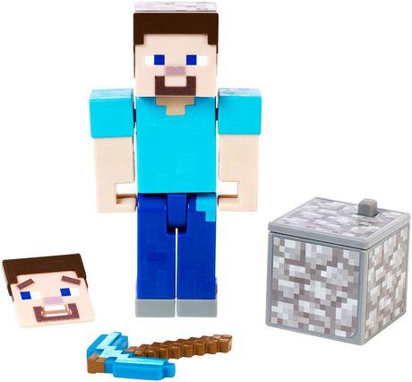 Minecraft Comic Maker Steve Action Figure Comics maker