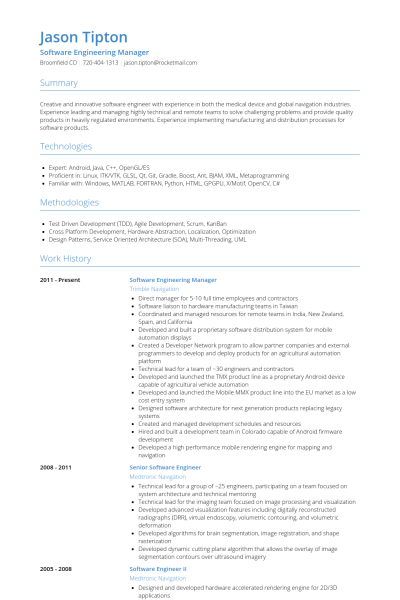 Vehicle Test Engineer Sample Resume Engineering Manager  Resume Examples  Pinterest  Sample Resume .