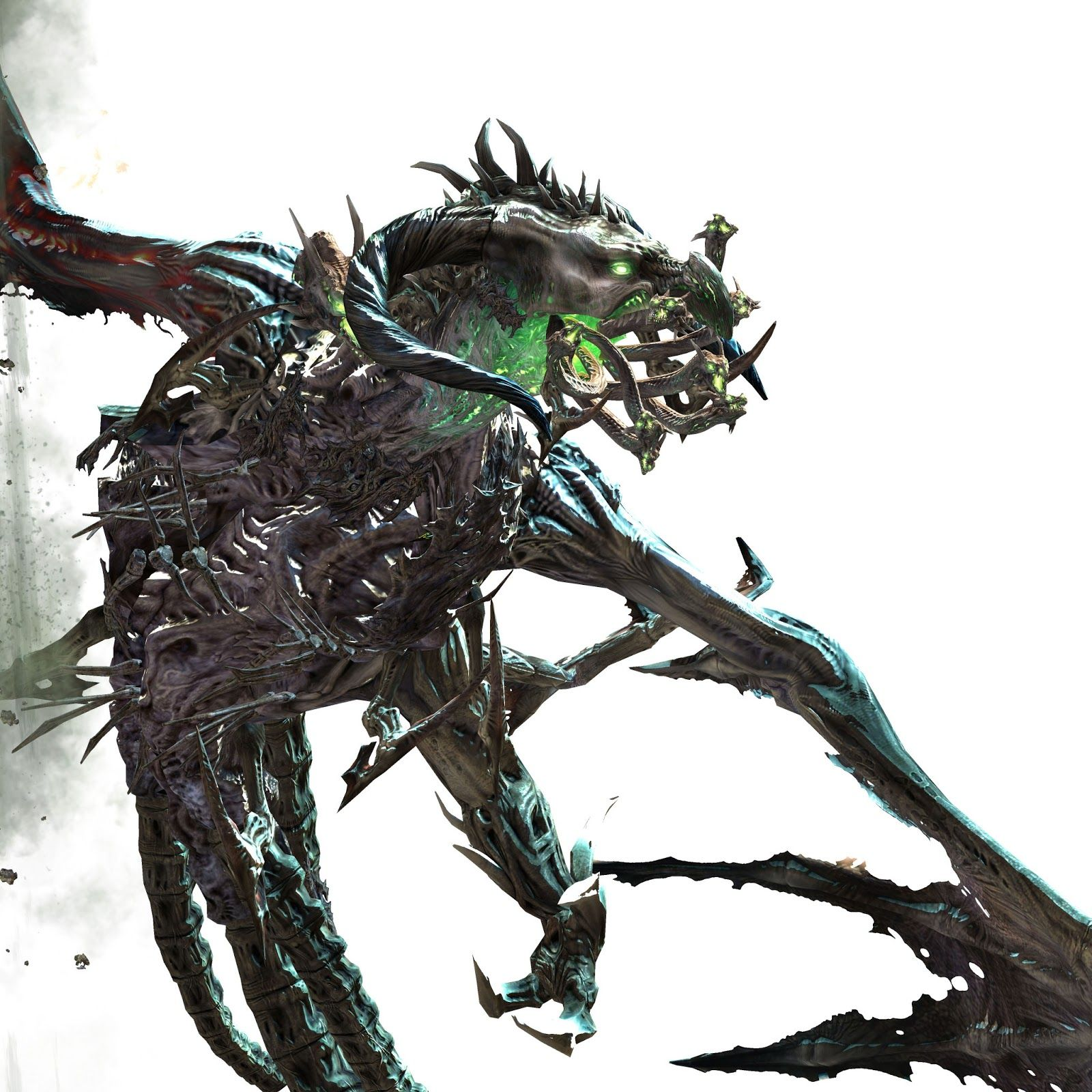 Art by Katy Hargrove: Guild Wars 2 Boss Zhaitan