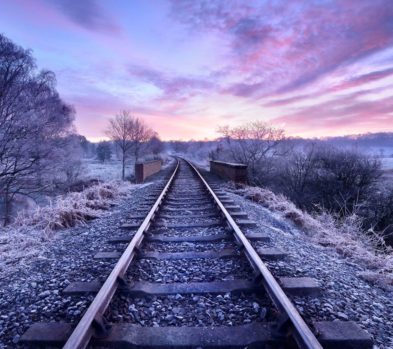 Download Railroad Tracks Wallpaper by Zaragil f2 Free