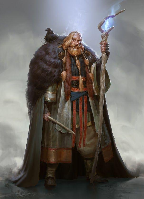 A Nordic Version Of Harry Potter || Vølurheim: Torbjørn Jotunhorn, Headmaster by Even Amundsen