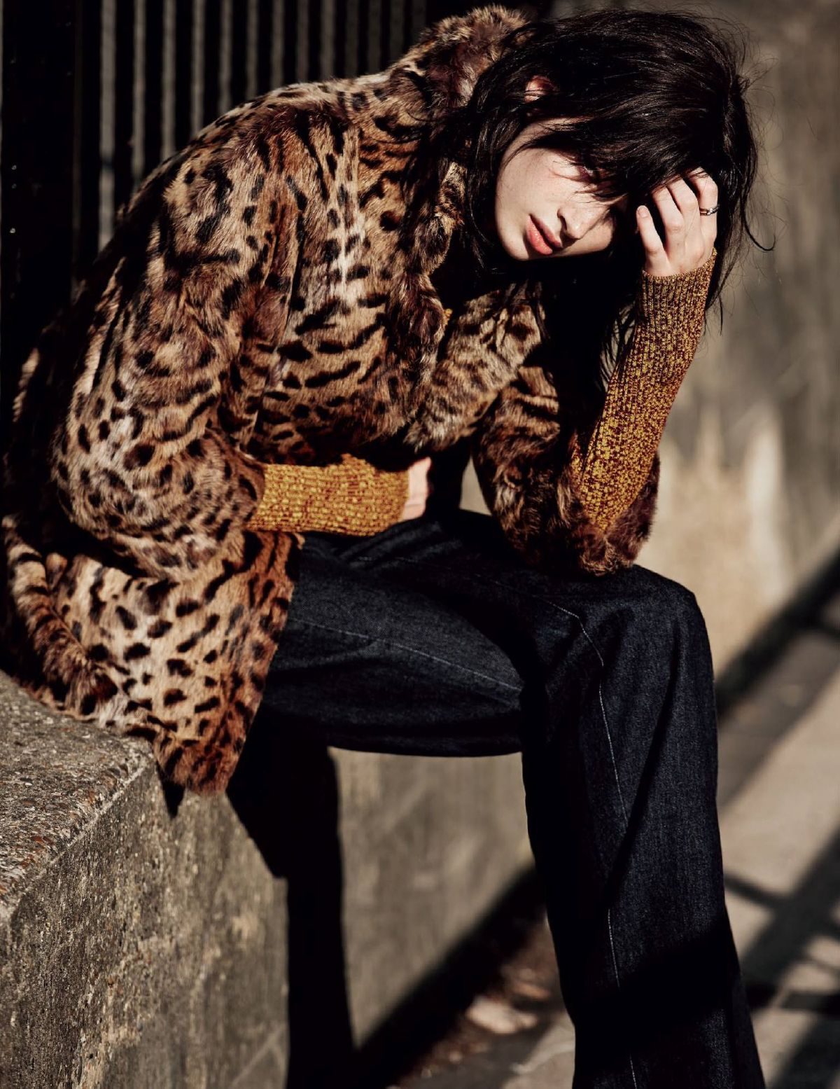 anna lund by paolo zerbini for vogue russia november 2014