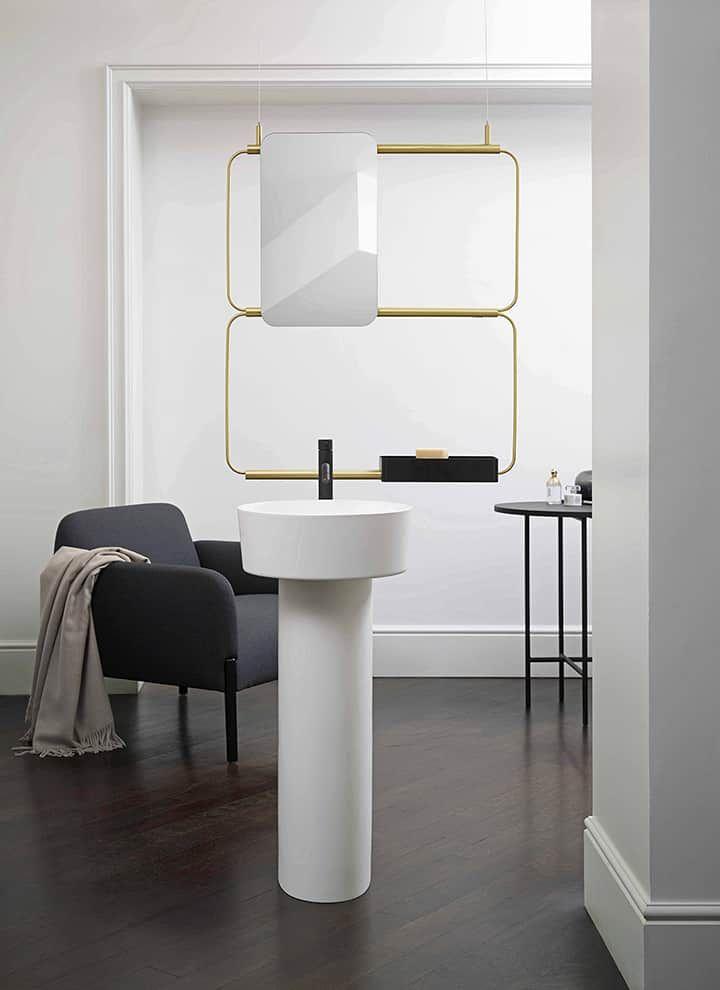 La salle de bains, esprit minimaliste, détente XXL Pinterest